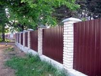 Строительство заборов, ограждений в Краснодаре и пригороде, строительство заборов, ограждений под ключ г.Краснодар